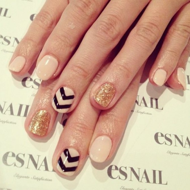 best nail art and manicure for short nails