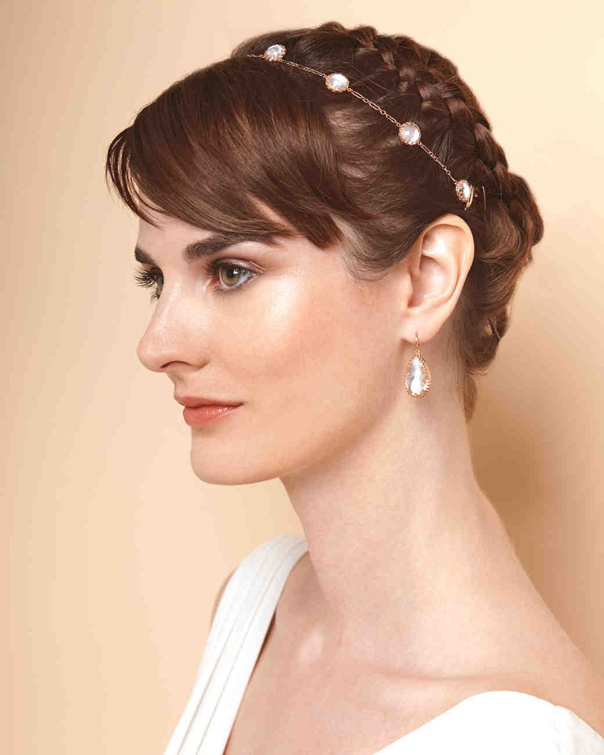 Wedding hairstyles with short hair: to be beautiful and chic on your wedding day!