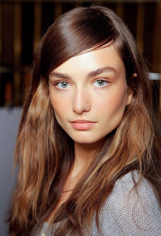 Brown hair: golden, bronze or copper?