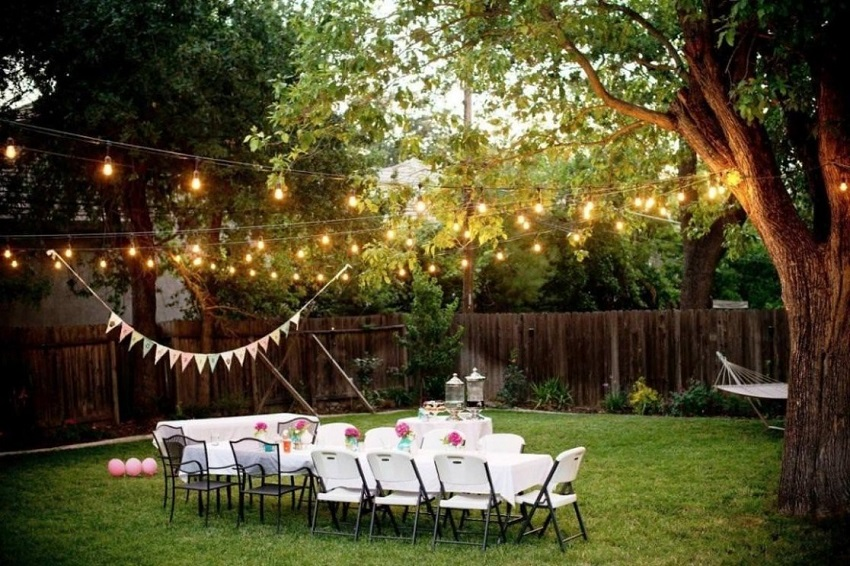 Wedding decoration without flowers: 5 magnificent substitutes