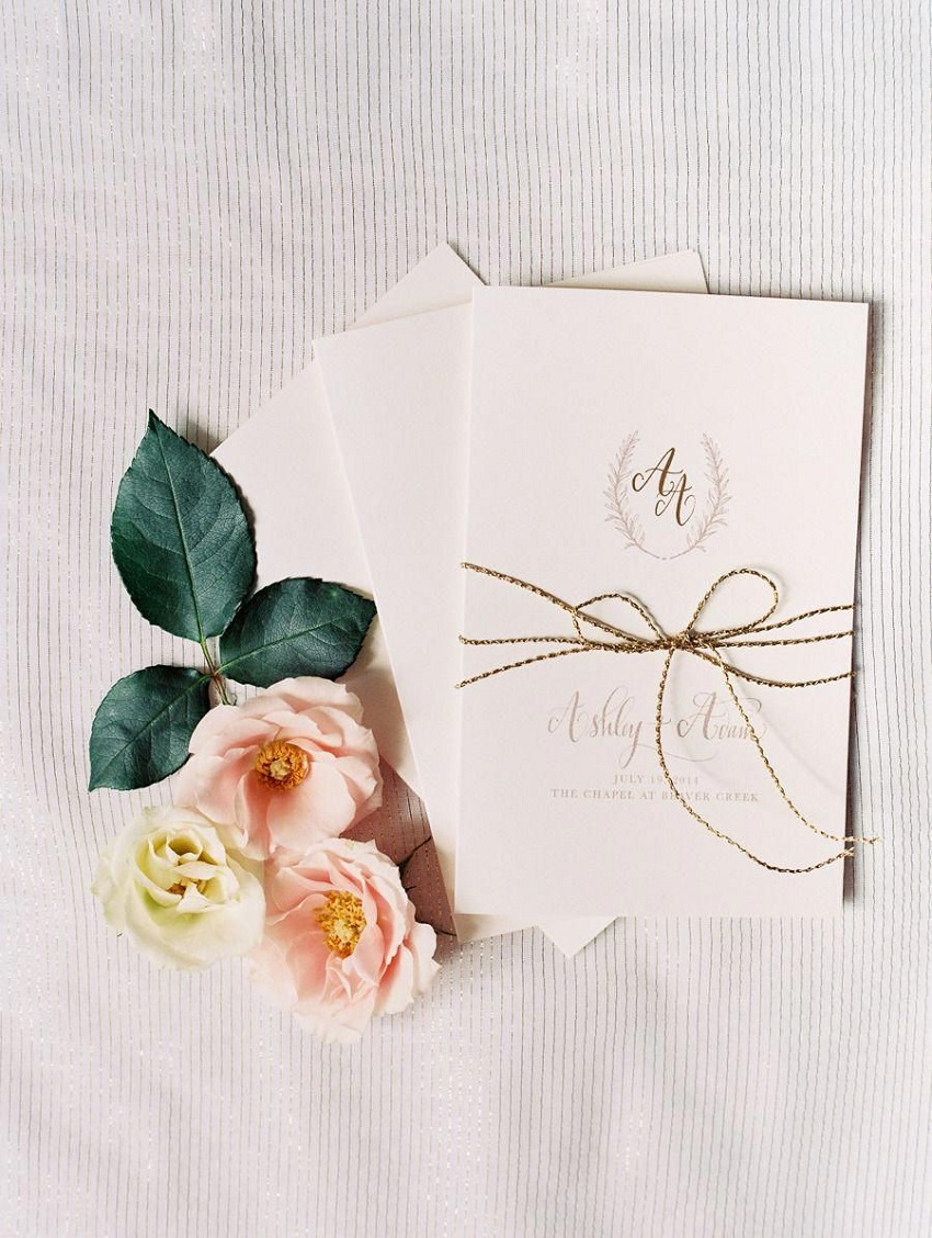 Ideas for Minimalist Wedding Decoration