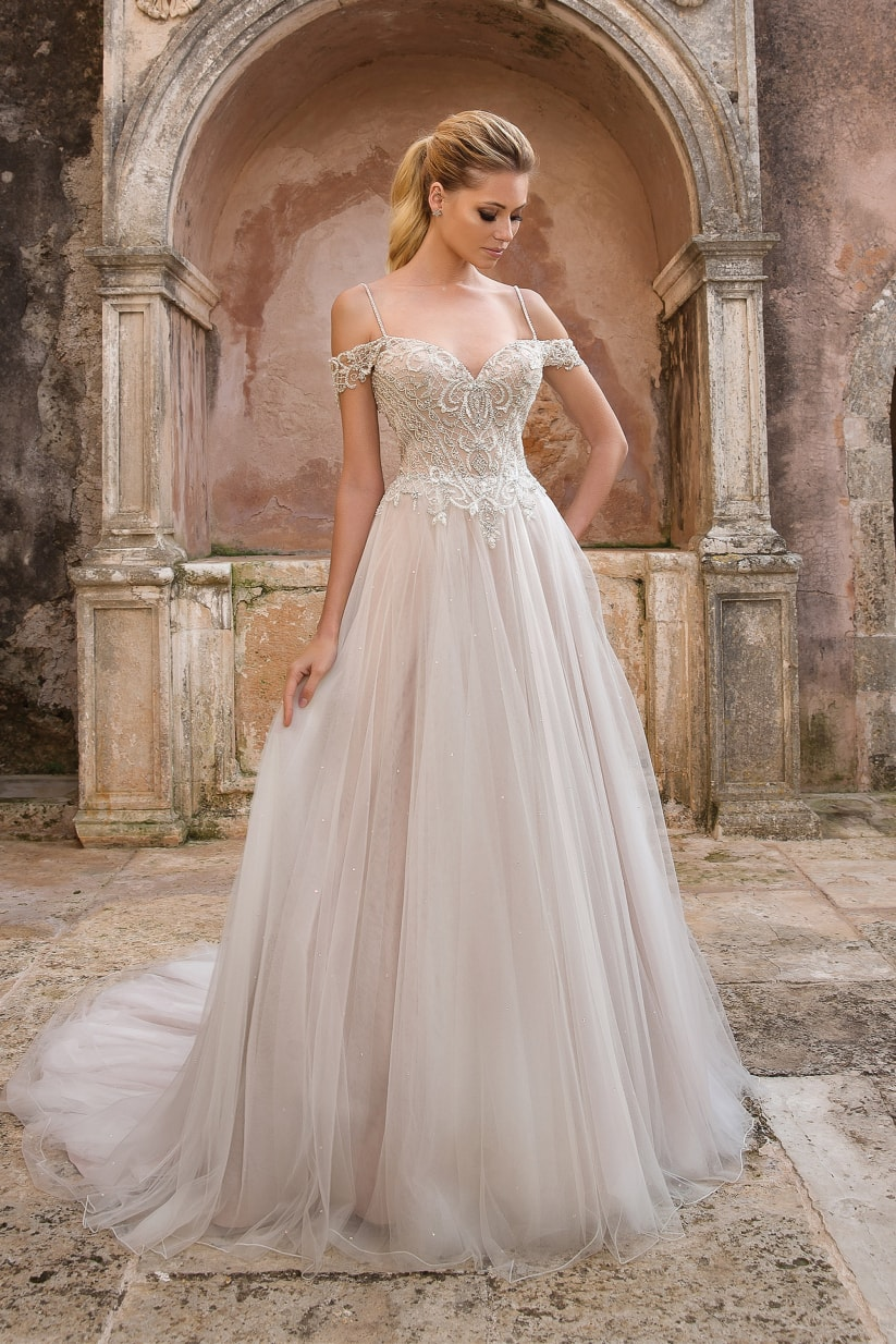 Some wedding dresses that fall in love