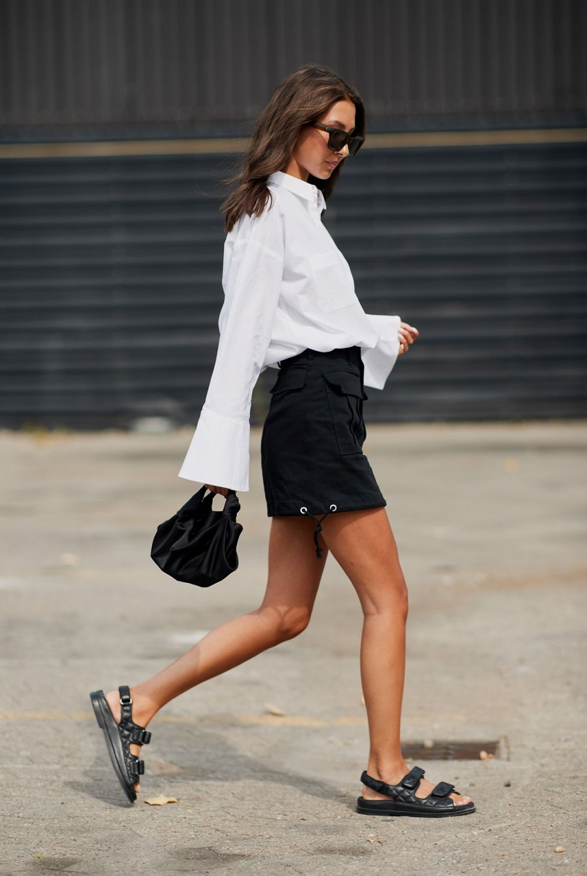 White shirt: 5 ways to adopt it with style