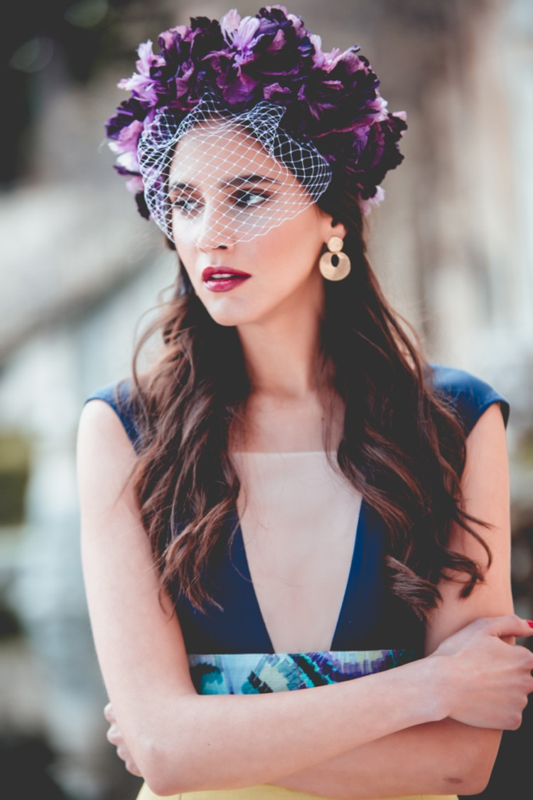 Flower crown: style guide and its use as a wedding guest